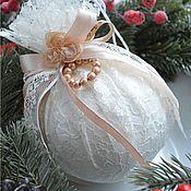 Подарки к праздникам ручной работы. Ярмарка Мастеров - ручная работа Новогодние шары на елку елочные шары новогодний декор новый год 2017. Handmade.