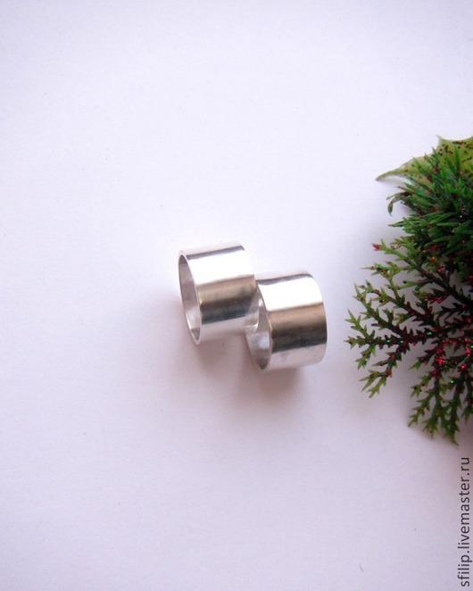"""Кольца ручной работы. Ярмарка Мастеров - ручная работа. Купить Кольца обручальные """"Silver"""" -серебро 925. Handmade. Кольцо серебряное"""