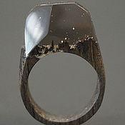"""Украшения ручной работы. Ярмарка Мастеров - ручная работа Деревянное кольцо """"Волшебная  принцесса 13"""", кольцо из дерева. Handmade."""