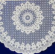 Скатерть круглая д. 200 Вятское кружево