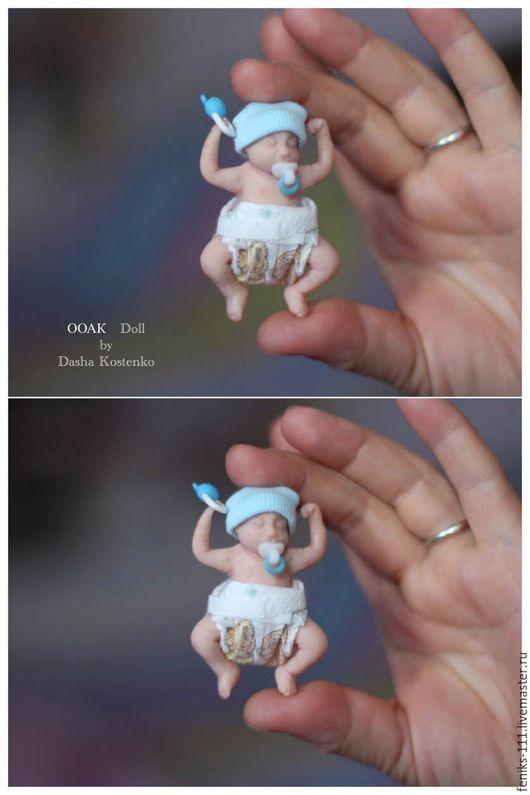 Куклы-младенцы и reborn ручной работы. Ярмарка Мастеров - ручная работа. Купить ООАК Тиша 2!. Handmade. Комбинированный