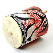 Музыкальные инструменты ручной работы. Ярмарка Мастеров - ручная работа Куика (говорящий барабан). Handmade.
