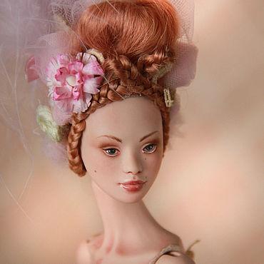 Куклы и игрушки ручной работы. Ярмарка Мастеров - ручная работа Жюли. Фарфоровая шарнирная кукла.. Handmade.