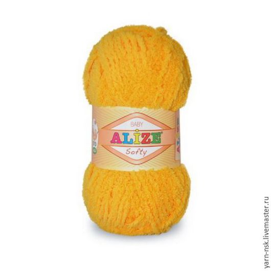 Вязание ручной работы. Ярмарка Мастеров - ручная работа. Купить Пряжа  Ализе Софти (Alize Softy). Handmade. Ализе