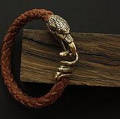 Украшения handmade. Livemaster - original item Bracelet with Raven. Handmade.