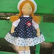 """Куклы и игрушки ручной работы. Ярмарка Мастеров - ручная работа Вальдорфская кукла """"Ася"""" 40 см.. Handmade."""