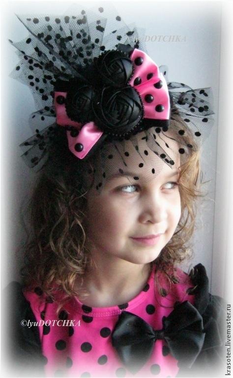 """Шляпы ручной работы. Ярмарка Мастеров - ручная работа. Купить Шляпка  """"Озорная Минни"""". Handmade. Розовый, шляпка для девочки, подарок"""