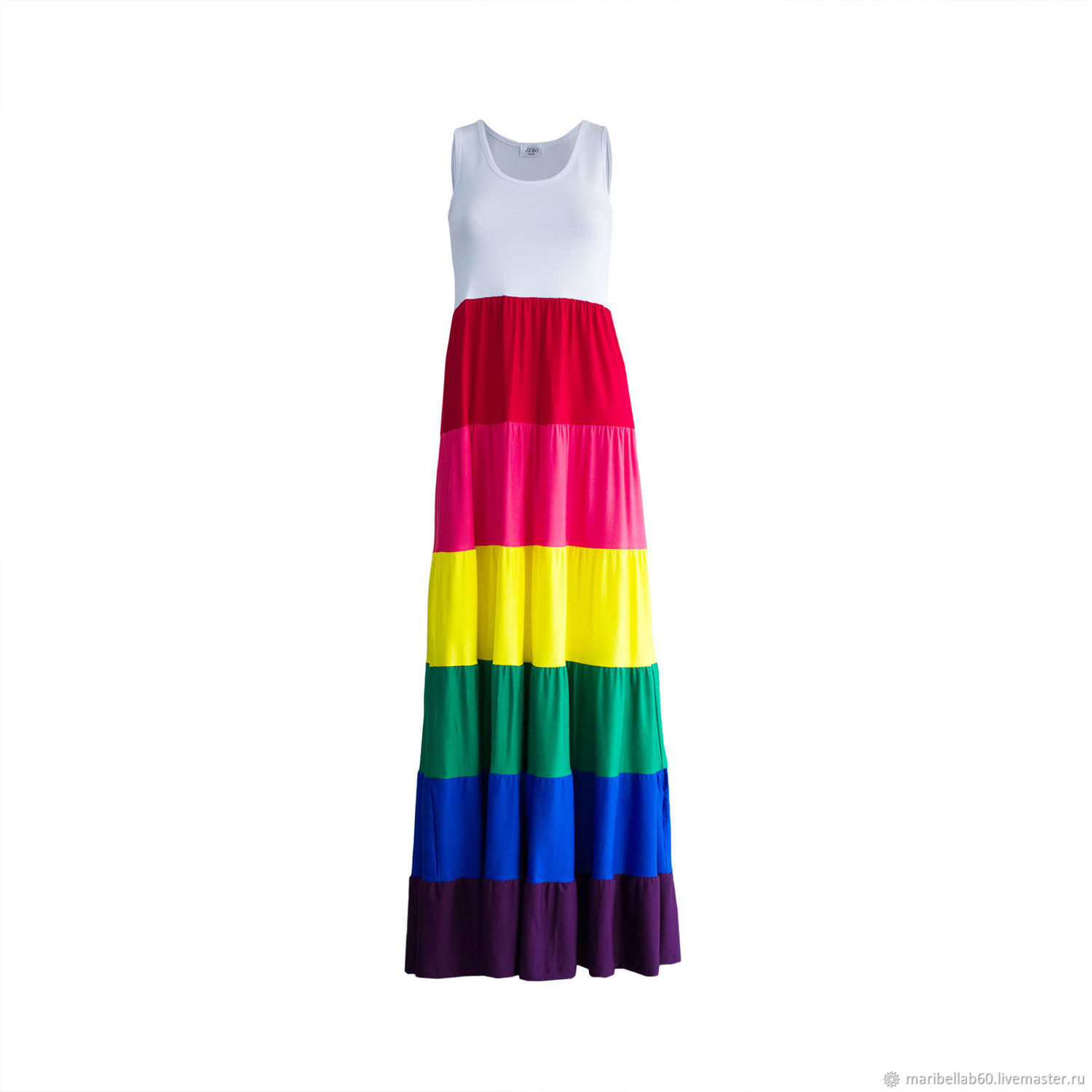 1f660a433403 Summer dress rainbow – shop online on Livemaster with shipping ...