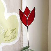 Цветы и флористика ручной работы. Ярмарка Мастеров - ручная работа Тюльпан. Handmade.