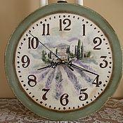 Для дома и интерьера ручной работы. Ярмарка Мастеров - ручная работа Настенные часы Прованс. Handmade.
