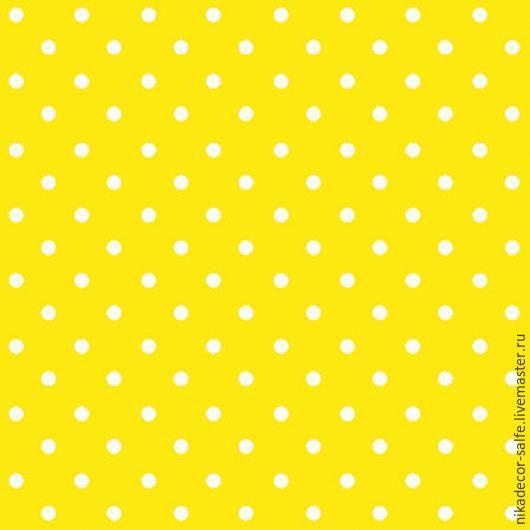 Декупаж и роспись ручной работы. Ярмарка Мастеров - ручная работа. Купить Горох насыщенно-желтый (SDL066017) 33х33 салфетка для декупажа. Handmade.