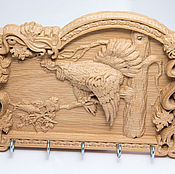 Для дома и интерьера handmade. Livemaster - original item Wooden housekeeper Grouse. Handmade.