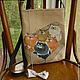 Женские сумки ручной работы. Ярмарка Мастеров - ручная работа. Купить Сумка: Вам посылка. Handmade. Сумка авторская