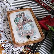 """Для дома и интерьера ручной работы. Ярмарка Мастеров - ручная работа Бонбоньерка """"Le premier amour"""". Handmade."""