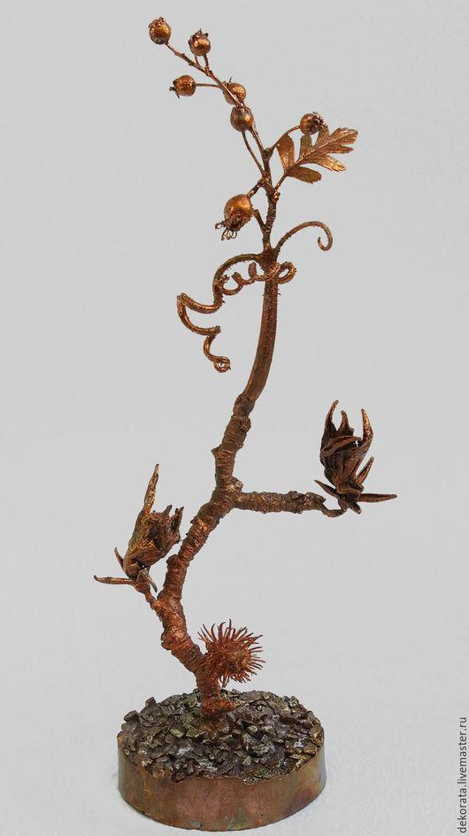 Статуэтки ручной работы. Ярмарка Мастеров - ручная работа. Купить Сон Мичурина. Handmade. Растения, коричневый, олово
