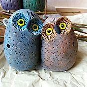 Музыкальные инструменты handmade. Livemaster - original item ocarinas: Devushki-lovebird. Handmade.
