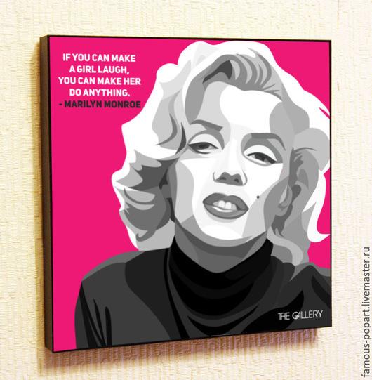 Люди, ручной работы. Ярмарка Мастеров - ручная работа. Купить Картина Мэрилин Монро. Handmade. Искусство, картина, постер, плакат