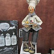 Dolls handmade. Livemaster - original item Doll: Cooks 3. Handmade.