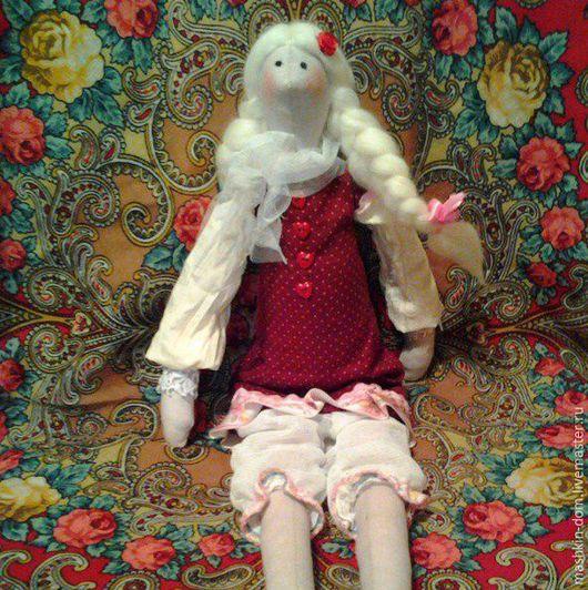 Куклы Тильды ручной работы. Ярмарка Мастеров - ручная работа. Купить Кукла Глафира. Handmade. Бордовый, кукла Тильда, хлопок