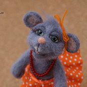 Куклы и игрушки ручной работы. Ярмарка Мастеров - ручная работа Мышка Маришка. Handmade.