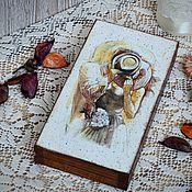"""Свадебный салон ручной работы. Ярмарка Мастеров - ручная работа Купюрница """"Влюбленные"""", свадебная купюрница. Handmade."""