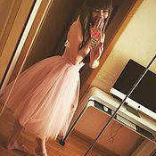 Одежда ручной работы. Ярмарка Мастеров - ручная работа юбка из фатина, юбка-пачка. Handmade.