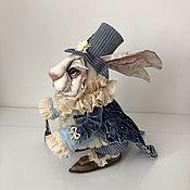 Будуарная кукла ручной работы. Ярмарка Мастеров - ручная работа Белый кролик. Handmade.