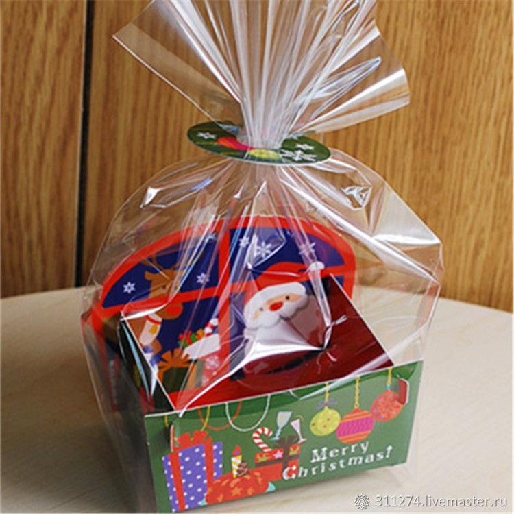 Набор для упаковки новогоднего подарка. 2 вида, Упаковка, Сасово, Фото №1