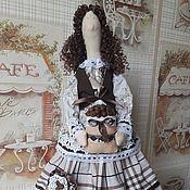 Куклы и игрушки ручной работы. Ярмарка Мастеров - ручная работа Тильда Кофейная. Handmade.