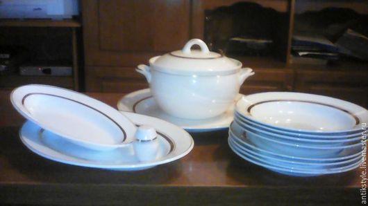 Винтажная посуда. Ярмарка Мастеров - ручная работа. Купить Солидный набор посуды на 4 персоны. Handmade. Винтажная посуда, для дома