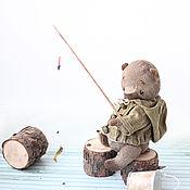 Куклы и игрушки ручной работы. Ярмарка Мастеров - ручная работа Шурик 21см мишка тедди. Handmade.