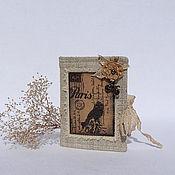 Для дома и интерьера handmade. Livemaster - original item pincushion - owner bois de boulogne.. Handmade.