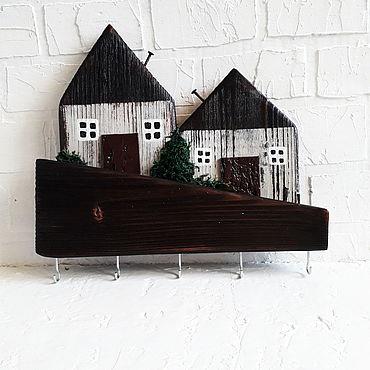 For home and interior handmade. Livemaster - original item Housekeeper: Eco houses. Handmade.