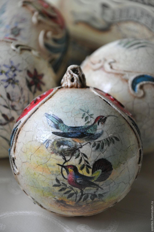 New Year 2019 handmade. Livemaster - handmade. Buy Set of Christmas balls:,, Inspired By D&G ,.Christmas