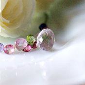 """Украшения ручной работы. Ярмарка Мастеров - ручная работа Мини-колье """"Очарование розового"""" натуральные камни. Handmade."""
