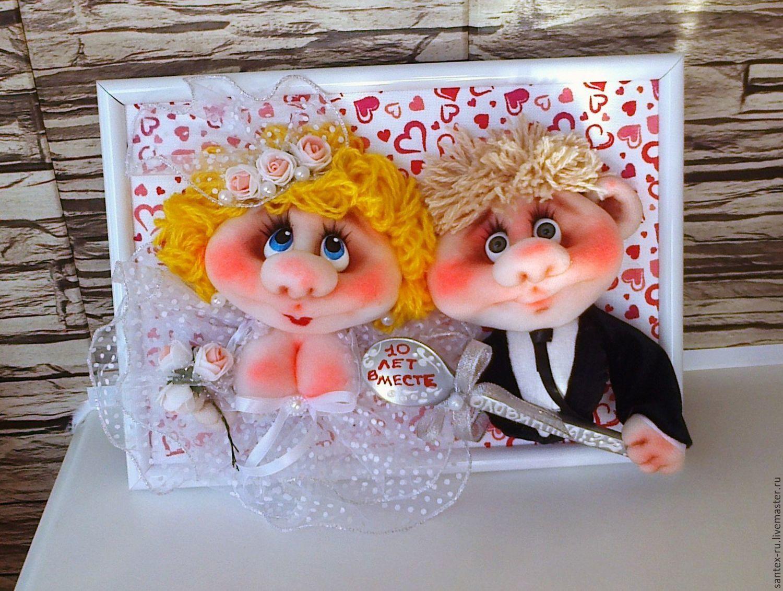 Свадебные подарки молодоженам своими руками 47