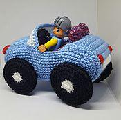 Куклы и игрушки ручной работы. Ярмарка Мастеров - ручная работа Машинка кабриолет. Handmade.