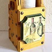 Для дома и интерьера handmade. Livemaster - original item Box for wine or rum. Handmade.