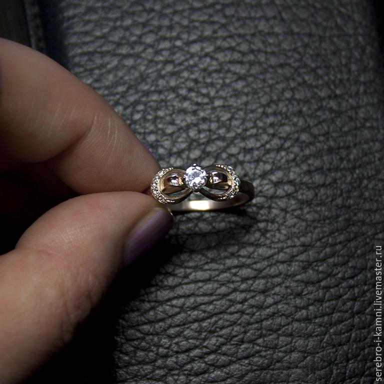Купить золотое кольцо Бесконечность (золото · Кольца ручной работы. золотое  кольцо Бесконечность (золото 585). 33893ba0a5b33