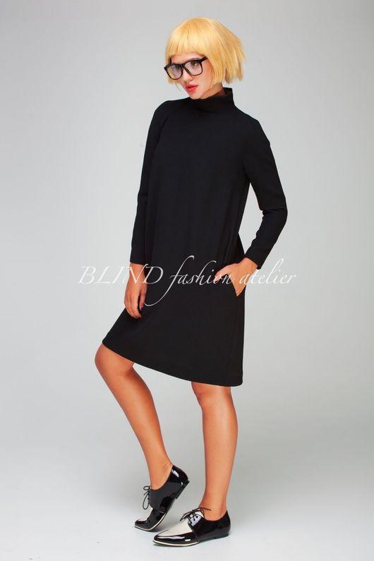 Платья ручной работы. Ярмарка Мастеров - ручная работа. Купить Платье 00267. Handmade. Черный, белый