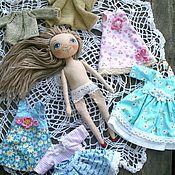 Куклы и игрушки ручной работы. Ярмарка Мастеров - ручная работа Куколка игровая с одеждой.. Handmade.