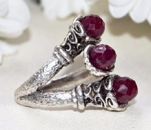 """Кольца ручной работы. Ярмарка Мастеров - ручная работа. Купить Кольцо """"Рубиновый цвет"""". Handmade. Ярко-красный, кольцо с камнем"""