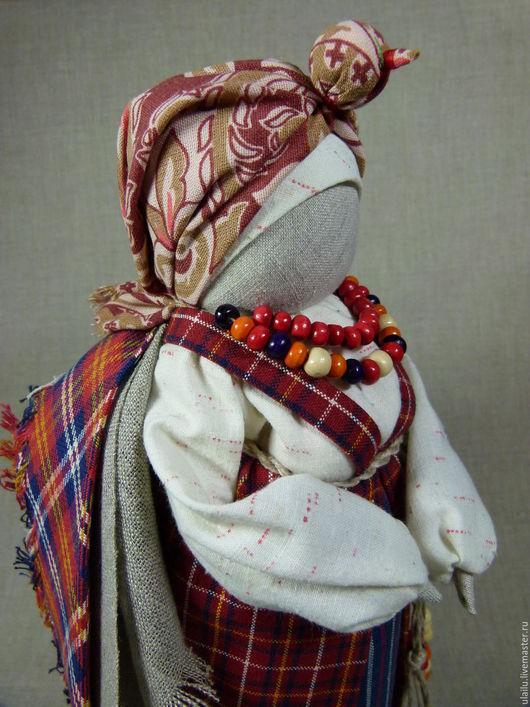 Народные куклы ручной работы. Ярмарка Мастеров - ручная работа. Купить Женщина-птица. Handmade. Бордовый, русская кукла