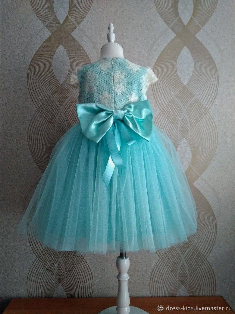 """Нарядное платье """"Аквамарин"""""""