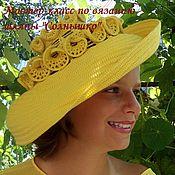 """Аксессуары ручной работы. Ярмарка Мастеров - ручная работа Мастер-класс по вязанию шляпы """"Солнышко"""" розовый вариант. Handmade."""