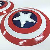 Костюмы для кослпея ручной работы. Ярмарка Мастеров - ручная работа Щит Капитана Америки. Handmade.