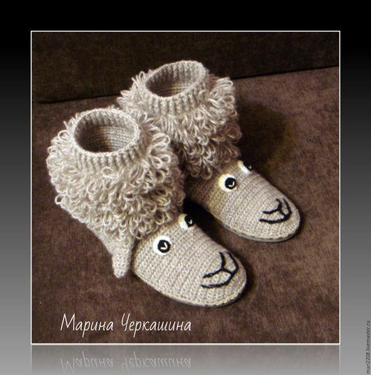 сапоги, вязаные сапоги, обувь, обувь ручной работы, вязаная обувь, женская обувь, обувь для улицы, зимняя обувь, осенняя обувь, сапоги зимние, Марина Черкашина, подошва, шерстяные сапоги, вязаные сапо