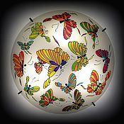 """Для дома и интерьера ручной работы. Ярмарка Мастеров - ручная работа Люстра """"Бабочки"""" №2. Handmade."""