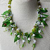 Работы для детей, handmade. Livemaster - original item Necklace for girl