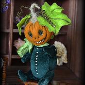 Куклы и игрушки handmade. Livemaster - original item Little Pumpkin Teddy, pumpkin, pumpkin Halloween, Halloween gift. Handmade.